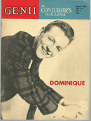 Genii Magazine March 1954 Dominique on the Cover