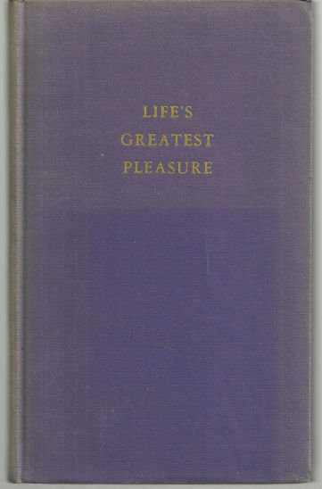 Joys of Reading Life's Greatest Pleasure by Rascoe