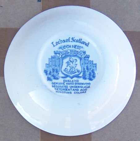 Lochs of Scotland Blue and White Loch Ness Berry Bowl