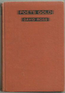 Poet's Gold An Anthology of Poems to be Read Aloud 1937
