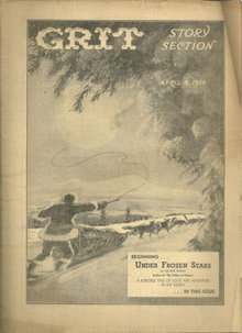 Grit Story Section April 8, 1934 Vintage Fiction