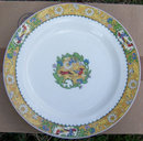 Wm. Grindley Dinner Plater with Bird and Floral Design