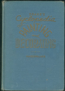 Drake's Cyclopedia of Painting and Decorating 1945 1st edition