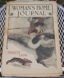 Woman's Home Journal March 1908 Proper Cookery