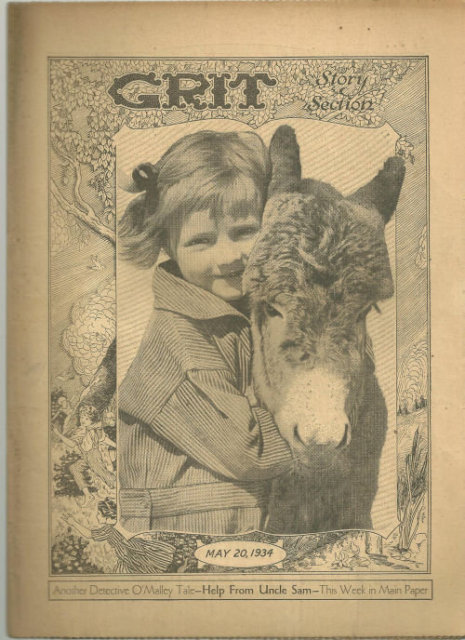 Grit Story Section May 20, 1934 Vintage Fiction