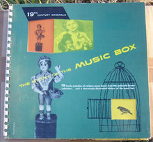 Story of the Music Box 1952 1st edition Book and Record