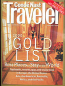 Conde Nast Traveler Magazine January 2000 Gold List