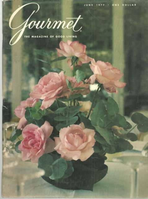 Gourmet Magazine June 1977 Hungarian Cookery