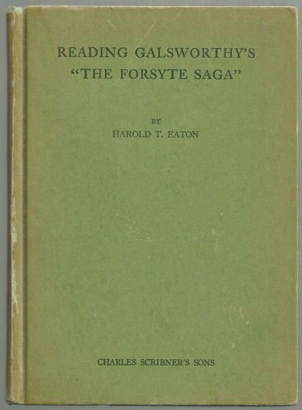 Reading Galsworthy's The Forsyte Saga by Harold Eaton