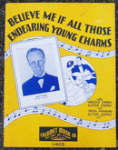 Endearing Young Charms Featured by Kay Kyser 1935 Sheet Music