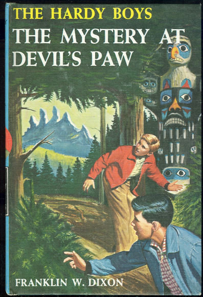 Mystery at Devil's Paw by Franklin Dixon 1959 #38 Matte