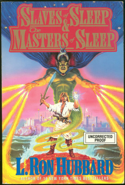 Slaves of Sleep and Masters of Sleep Advance Reading