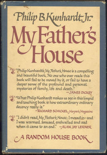 My Father's House by Philip Kunhardt 1970 1st ed DJ