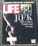 Life Magazine June 1988  Robert Kennedy on Cover