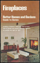 Better Homes and Gardens Fireplaces Guide 1975 Illus