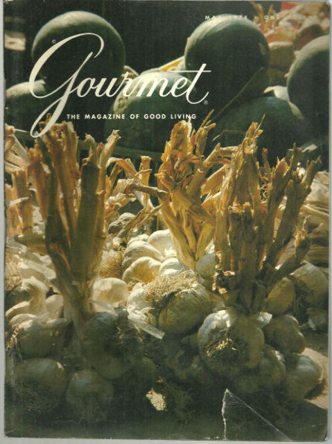Gourmet Magazine May 1978 Historic St. Augustine