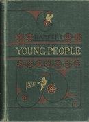 Harper's Young People Bound Magazine 1892-1893 Illus