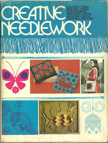 Creative Needlework by Jo Springer 1974 with DJ Illus