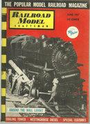 Railroad Model Craftsman Magazine June 1957 Railroad Display
