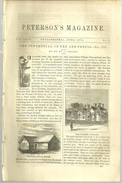 Centennial in Pen and Pencil Part III Henry Vernon Article