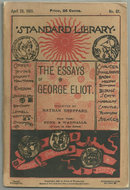 Essays of George Eliot Complete 1883 Paperback