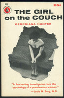 Girl on the Couch by Georgiana Hunter 1956 Paperback