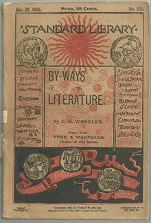 By-Ways of Literature by David Hilton Wheeler 1883