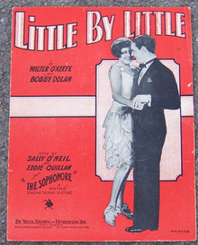 Little by Little From The Sophomore 1929 Sheet Music