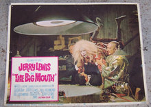 Lobby Card Jerry Lewis as the Big Mouth 1967 Movie