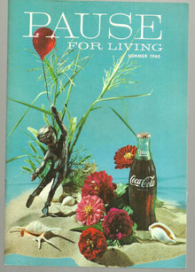 Pause for Living Summer 1965 Ways with Shells and Coke