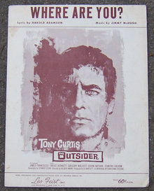Where are You From The Outsider Starring Tony Curtis