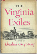 Virginia Exiles by Elizabeth Gray Vining Historical