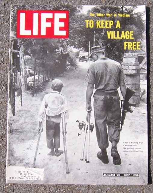 Life Magazine August 25, 1967 To Keep a Village Free