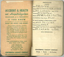 Train Service Time Book Continental Casualty Company