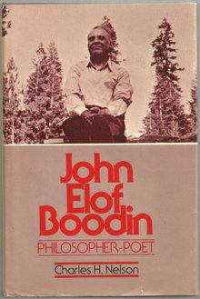 John Elof Boodin Philosopher-Poet 1987 1st edition DJ