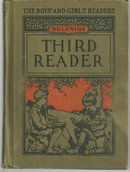 Third Reader by Emma Miller Bolenius 1923 School Book