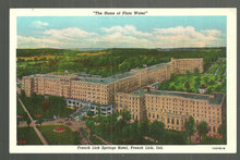Postcard of French Lick Springs Hotel, French Lick, IN