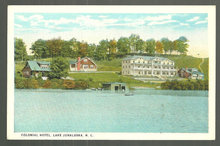 Postcard of Colonial Hotel, Lake Junaluska, NC
