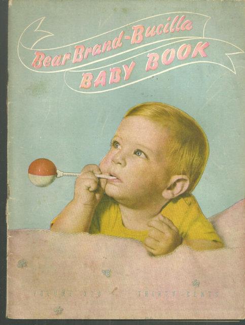 Bear Brand Bucilla Baby Book 1944 Knitting Book