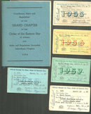Constitution, Rules and Regulations of Eastern Star, Arizona