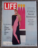 Life Magazine September 2, 1966 Paris Fall Fashions