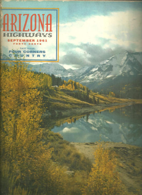 Arizona Highways Magazine September 1961 Four Corners