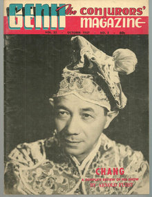 Genii Magazine October 1957 Chang on the Cover
