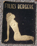 Vintage Follie Berge Souvenir Program, Paris France