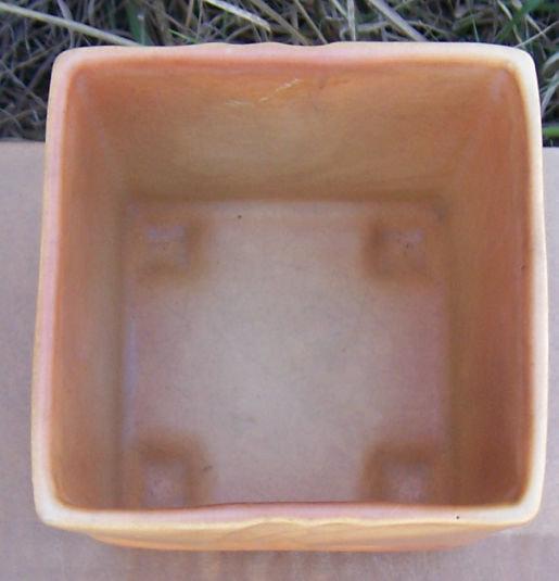 Vintage Roseville Pottery Florane Square Planter 90-4