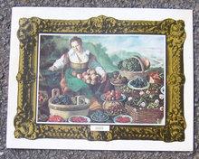 Vintage Menu From Trattoria Gallo, Lincolnwood, Illinois