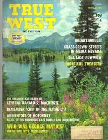 True West Magazine October 1971 The Last Powwow