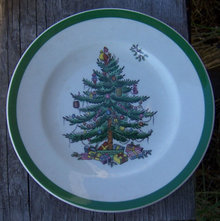 Vintage Spode England Christmas Tree 6 1/2