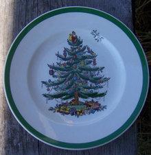 Vintage Spode England Christmas Tree 7 1/2