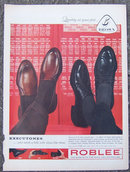 1959 Roblee Executones Men's Shoes Life Magazine Ad